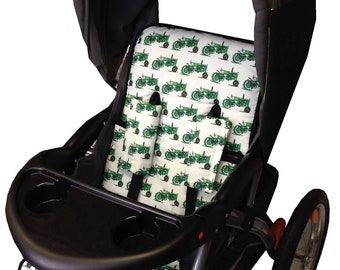 Tractors Stroller Liner - Reversible Stroller Pad