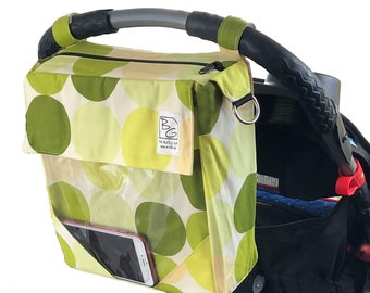 Lime Dots 3  Hour Diaper Bag