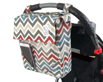 Vintage Chevron 3 Hour Bag