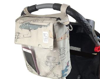 Vintage Airplanes 3 Hour Diaper Bag