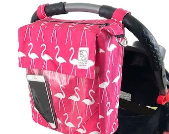 Hot Pink Flamingo 3 Hour Diaper Bag
