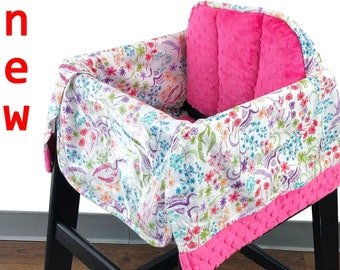 English Garden High Chair Cover