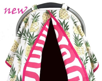 Pineapple Car seat Tent/Canopy