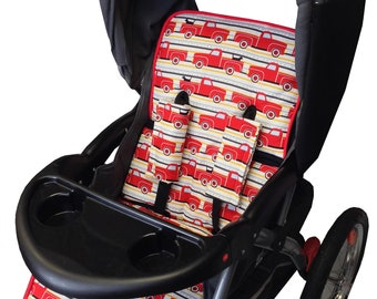 Best Friends Ride Stroller Liner - Reverseable Stroller Pad