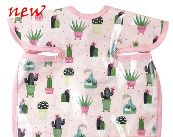 Potted Cactus Deluxe Apron Bib