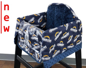 Chargers High Chair Cover