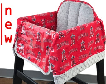 Angels high Chair Cover