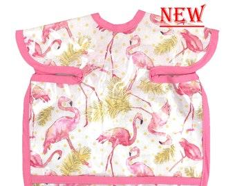 Flamingo Palms Deluxe Apron Bib