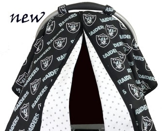 Raiders Car Seat Tent/Canopy