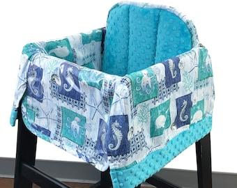Sea Life High Chair Cover