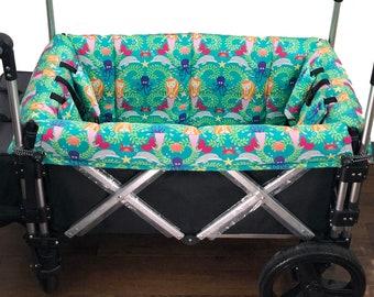 Mermaids Stroller Wagon Liner For Keenz