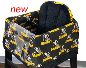 Steelers Restaurant High chair Cover