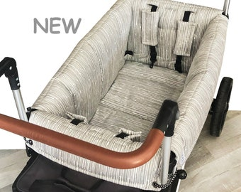 Gray Lines Stroller Wagon Liner For Keenz