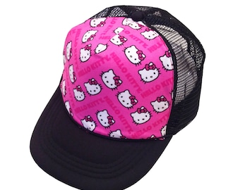 Kitty Trucker Hat-Youth Size