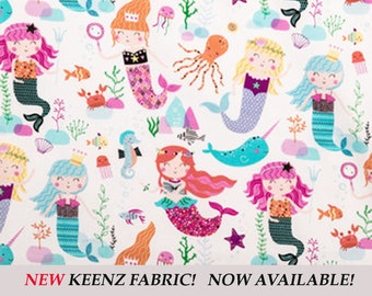 Mermaid Fun Stroller Wagon Liner For Keenz
