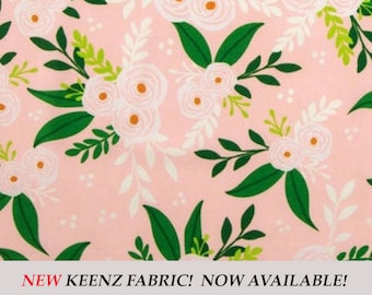 Blush Floral Stroller Wagon Liner For Keenz