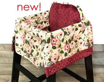 Bouquet High Chair Cover