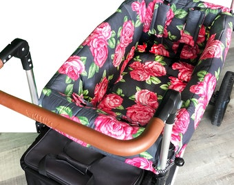 Chic Rose Stroller Wagon Liner For Keenz