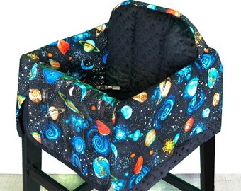 Planets Restaurant High Chair Cover