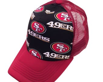 49ers Trucker Hat-Youth Size