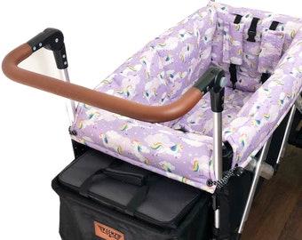 Lavender Unicorn Stroller Wagon liner for Keenz
