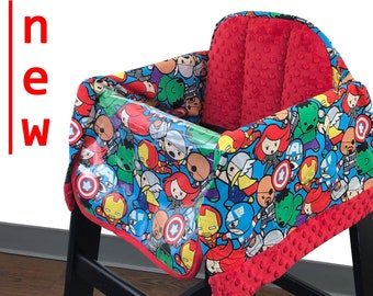 Baby Avengers High Chair Cover