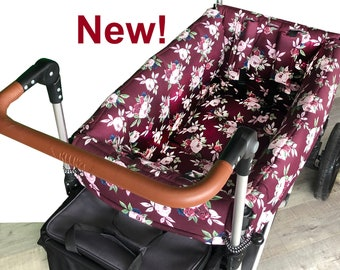Burgundy Rose Wagon Liner for Keenz