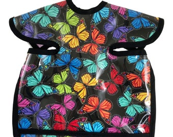 Prism Butterfly Deluxe Apron Bib