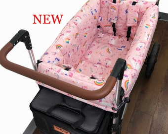Happy Unicorn Stroller Wagon Liner For Keenz