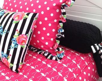 Flamingo Twin Size Hugger Comforter