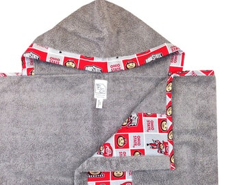 Ohio State Hooded Towel