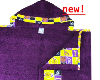 Lakers Hooded Towel