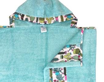 Cactus Garden Hooded Towel