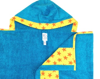 Starfish Hooded Towel
