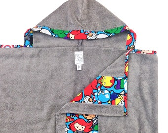 Baby Avenger Hooded Towel