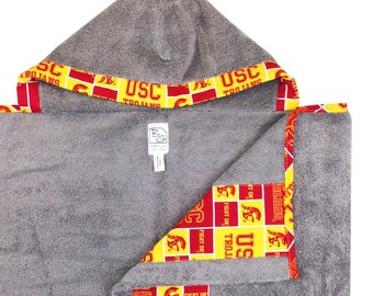 USC Hooded Towel