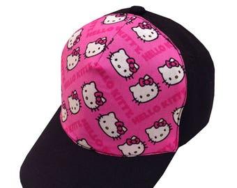 Hello Kitten Ball Cap/Toddler Size