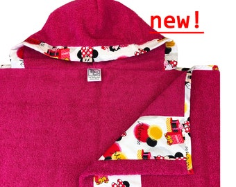 Minnie Hooded Towel