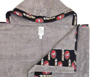 49ers Hooded Towel