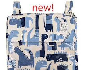 Dinosaur Blue 3 hour Diaper Bag