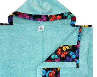 Prism Butterflies Hooded Towel