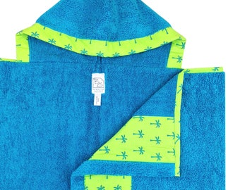 Palms Hooded Towel