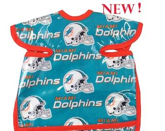 Dolphins Apron Bib
