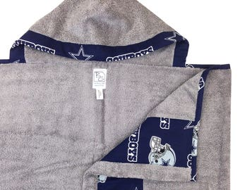 Cowboys Hooded Towel