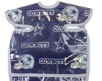 Cowboys Apron Bib