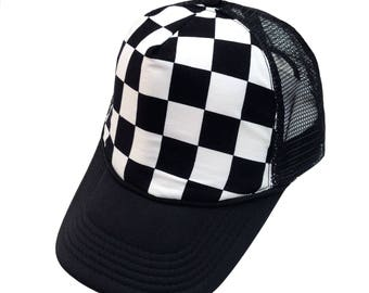 Checkers Trucker Hat- Youth Size