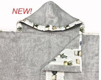 Cactus Hooded Towel