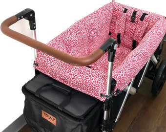 Pink Cheetah Stroller Wagon Liner for Keenz