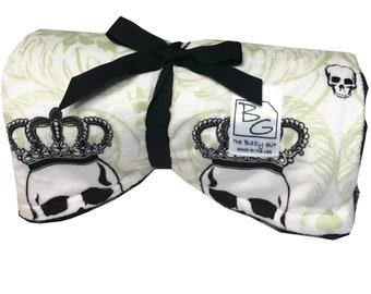 Royal Skulls Back 2 Basics Stroller Blanket