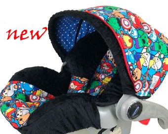 Baby Avengers Infant Car Seat Cover